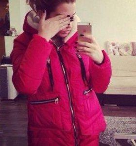 Парка куртка женская зимняя трансформеры