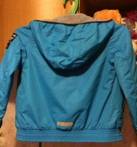 Куртка д/мальчика,122