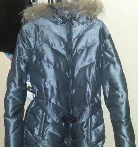 Куртка зимняя б/у 50-52