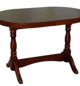 Стол обеденный овальный раскладной.