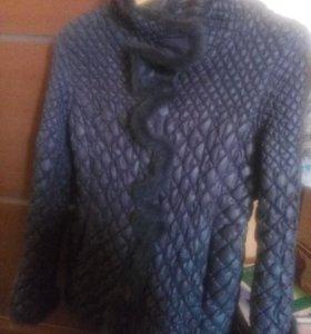 Куртка осенняя р-р 46