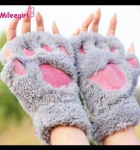 Перчатки-лапки без пальцев