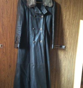 Пальто женское (натуральная кожа)