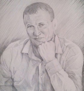 Портреты карандашом на заказ, формат А3