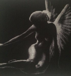 Вышивка ангел