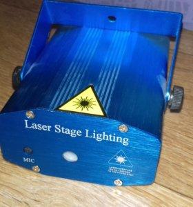 Лазерный излучатель