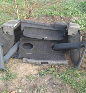 Облицовка салона багажника