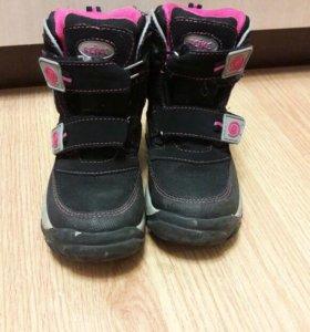Ботинки для девочки,демисезон.