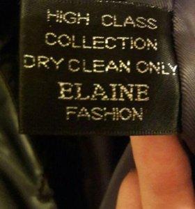 Зимнее женское пальто, натуральный мех,56 размер.
