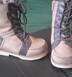 ортопедические осенние ботиночки