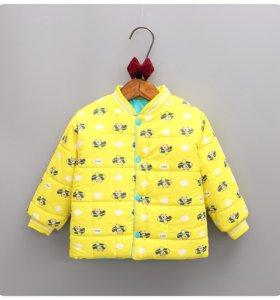 Куртки на мальчиков и девочек