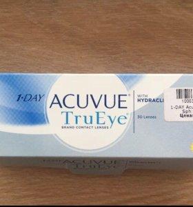 Контактные линзы Acuvue Trueye