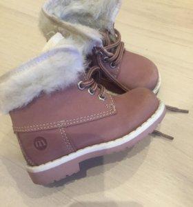Ботиночки зимние 20 размер