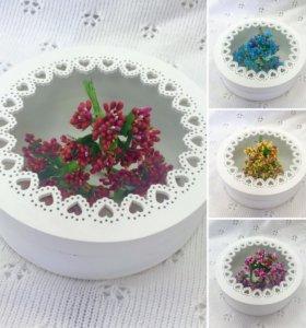 Веточки , цветы , тычинки