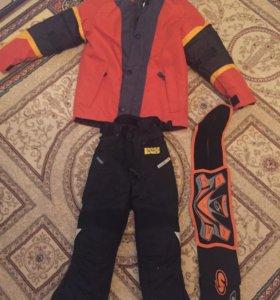 Куртка и штаны /2пары)для мотоспорта