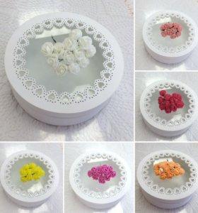 Цветы фоамиран букетик