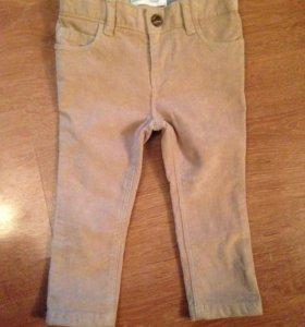 Вельветовые брюки Олд неви новые