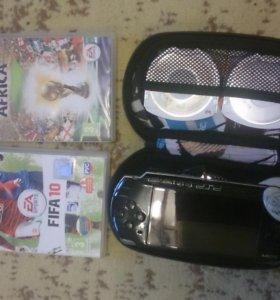 PSP + 2 игры