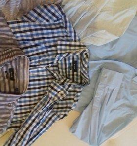 Рубашки новые и бу немного