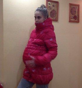 Куртки для беременных осень, зима.