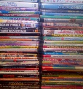 95 DVD дисков