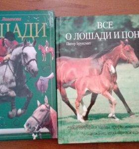 Книги о лошадях и конном спорте (2 экземпляра)