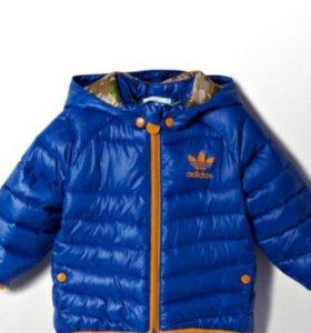 Детская куртка Адидас