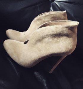 Новые туфли, ботильоны