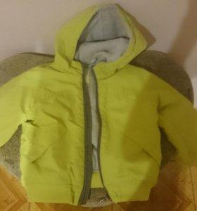 Куртка утепленная ветровка