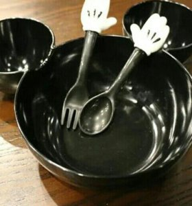 новая тарелочка микки