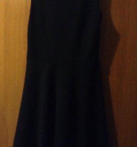 Платье синие школьное