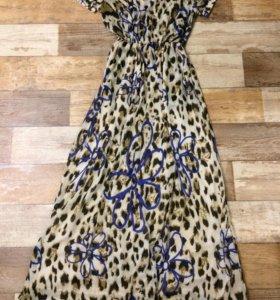 Платье в пол 44 р-р