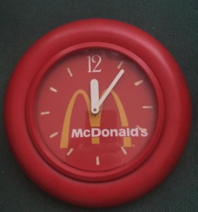 Часы Macdonald's Limited Edition