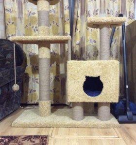 Домик для кота/когтеточка