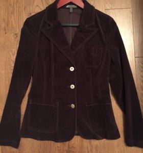 Б/у пиджак вилюровый