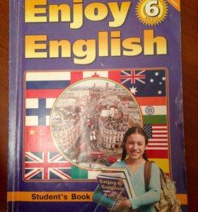 Учебник по англ. языку, 6 класс М.З.Биболетова.