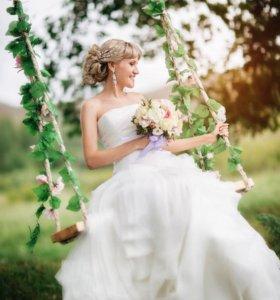 Счастливое Свадебное платье Vera Wang!!!