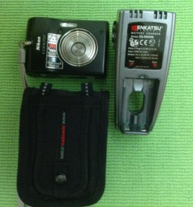 Фотоаппарат Nikon collpix l12 + зарядное и чехол