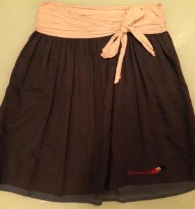 Marmalade юбка шелк 46-48 р-р