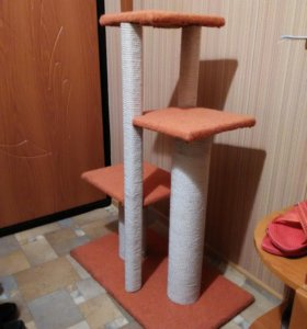 Когтеточка-лазилка для кошки