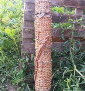 Тубус для шампуров, ручная работа