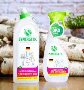 Средство для чистки сантехники synergetic