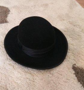 Шляпа фетр новая