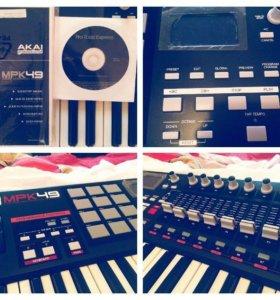 MIDI-клавиатура AKAI MPK 49 новая