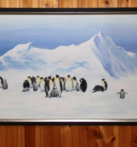 """Картина """"Пингвины"""""""