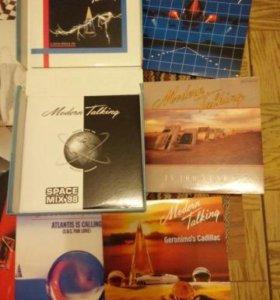 CD диски синглы коллекционные Модерн Токинг