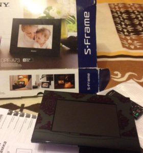 Цифровая фоторамка Sony новая