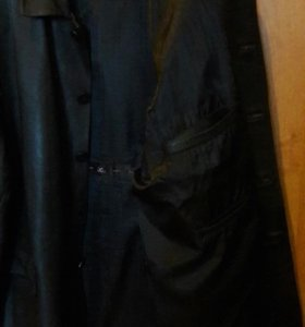 Куртка кожаная муж.