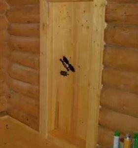 Под заказ двери для бани