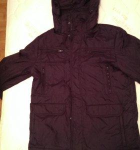 Мужская куртка на синтепоне размер52 54